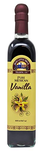 Blue Cattle Truck Trading Co. Pure Mexican Vanilla Extract Large 16.7 Ounce