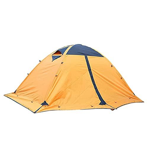 RH-ZTGY Tienda De Camping 2 Personas Doble Capas Impermeable Mochilero Tienda Easy Setup Senderismo Tienda Cúpula Tienda para Alpinismo Viajar Y Al Aire Libre
