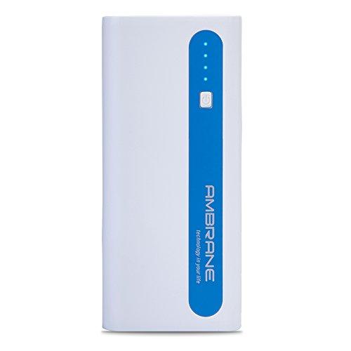 Ambrane P-1310 Power Bank (White-Blue)