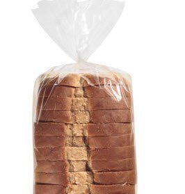 Cakesupplyshop Packaged 100 Expandable All Occasion Bread Loaf Bags Bakery Donut Bagel Bags (4 X 2 X 12inches)