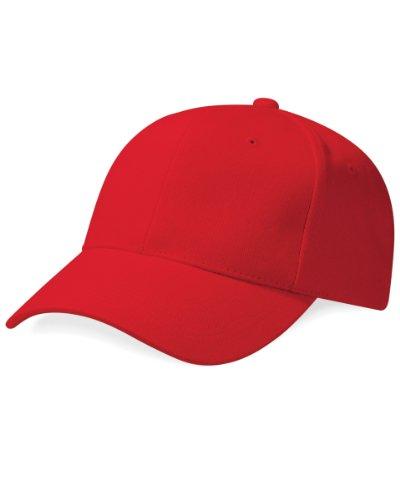 Beechfield Pro Style Chapeau taille unique, rouge classique