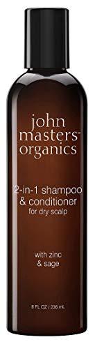 Haircare John Masters Organics Shampoo y Acondicionador Después de 2 en 1 de zinc y Sage 236ml