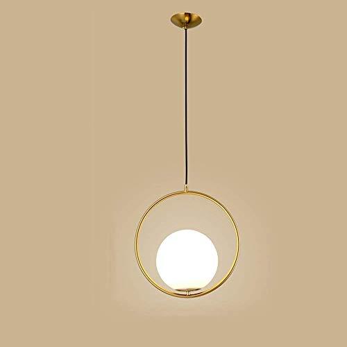 GYYlucky Minimalistische Nordic lampen Suspension Creative Arts smeedijzer, maaltijd gouden lantaarn, verlaagde deken voor trappen, studio, slaapkamerdecoratie, lampenshop