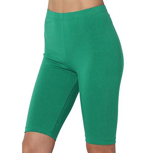 Legging Court Femme Pantalon Sport Yoga Course Jogging Taille Normale Short Danse Élastique Confortable S-XXL Bluestercool