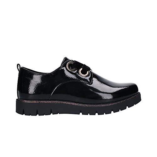 CHIKA 10 Lila 08 Zapatos DE Cordones NIÑA - Niñas Color: Negro Talla: 38