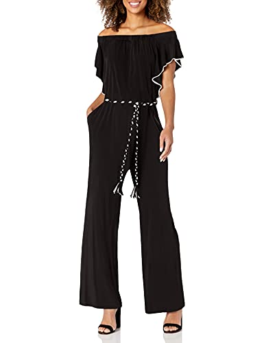 Calvin Klein Women's Jumpsuit, Black, Small