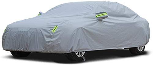 WASHULI Auto Kleidung Car Cover Kompatibel mit Skoda Octavia Lackschutz Cove Wasserdichtes staubdicht Sonnenschutz Anti-UV-Blatt-Prävention (Color : Gray)