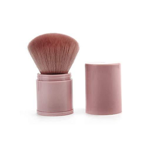 Simsly Kabuki - Brocha para base de maquillaje en polvo mineral para...
