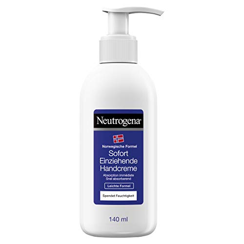 Neutrogena Immediately Absorbing Hand Cream Light Formula Pack of 2 x 140 ml