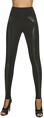 elegante Shape-Leggings * formend modellierend schlankmachend * Gr. S M L XL XXL Schlankmacher Leggins Damenhose (Ally Gr. S)