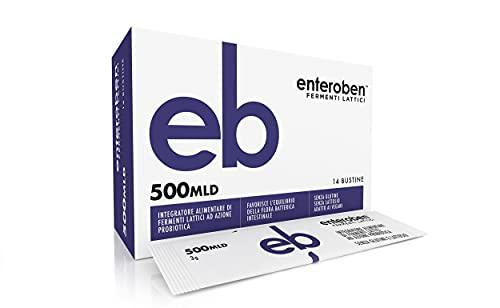 Enteroben - Integratore Alimentare di Fermenti Lattici Ad Azione Probiotica - La Carica Batterica...