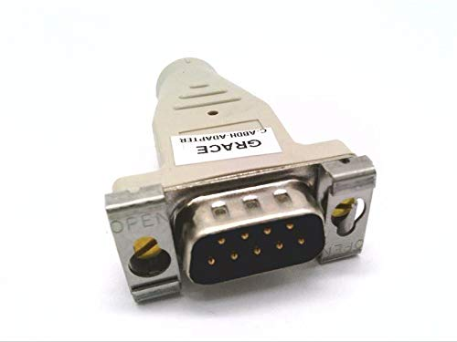 GRACE C-ABDH-Adapter 8 PIN MIN DIN to 9 PIN D Conn, Adapter for AB CABL 1784-U2DHP