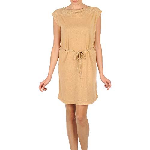 Majestic Camelia Kleider Femmes Beige - DE 36 (T2) - Kurze Kleider