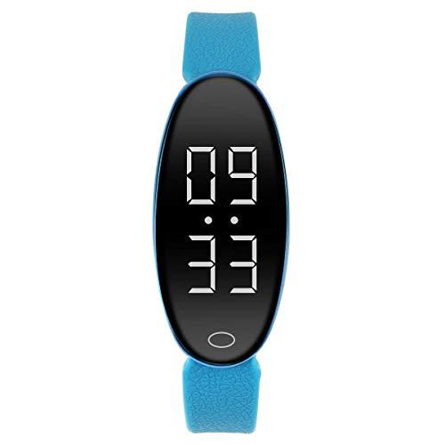 RCRuning-EU Pulsera Actividad Fitness Smart Watch Tracker Contador de Pasos, Contador de Calorías,Distancia niños Mujer Hombre - Non-Bluetooth Non-App