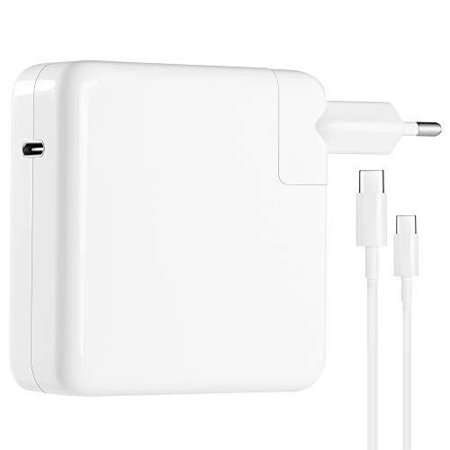 Hansen Mac-Ladegerät 87 W USB-C-Netzteil Kompatibel mit MacBook Pro 13 15 2019 Thunderbolt-Ladegerät Typ C PD-Ladegerät für HP Spectre,Dell XPS,Matebook,iPad Pro.