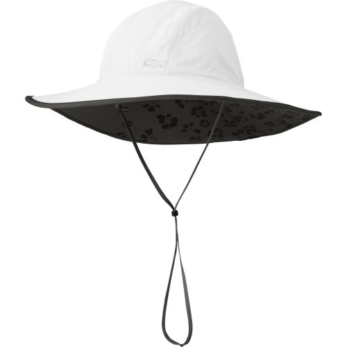 OR women´s Oasis sun sombrero - breitkrempiger Damen-Sonnenhut White L