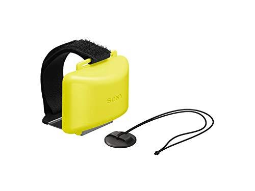 Sony AKA-FL2 Schwimmer Action Cam (Stativgewinde, hält Action Cam über Wasser, geeignet für Action Cam FDR-X3000, FDR-X1000, HDR-AS300, HDR-AS200, HDR-AS50) gelb