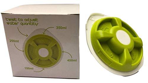 Quailitas Warmwasser-Scheibe für Tassimo T20 T4 T40 T42 T65 T85 T12 T32 Amia Fidelia, Grün