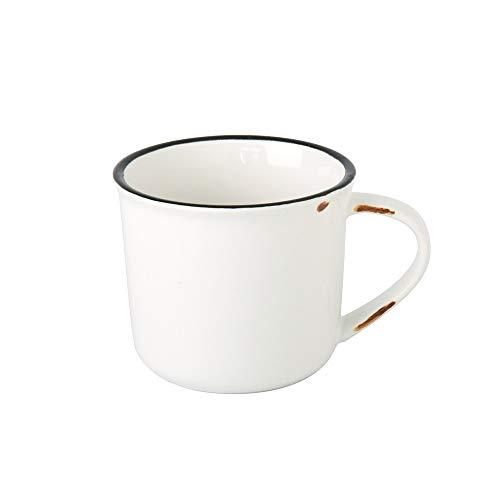 XVXFZEG Taza Retro Taza de café de cerámica de imitación del Esmalte Taza Taza de Leche Nostálgico Taza de Agua de la Taza de café - cerámica 200ml Taza Especial de cumpleaños Regalo de la graduación
