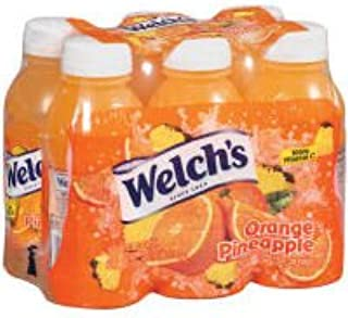 Welch's Orange Pineapple Juice, 10 OZ (Case of 4)