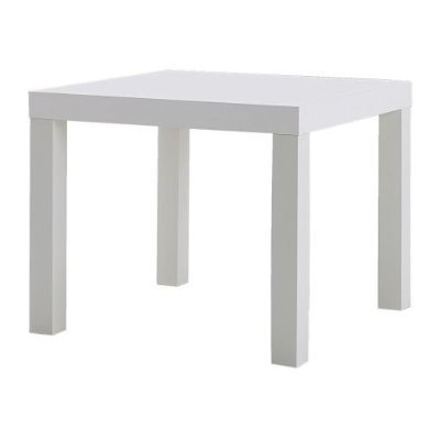 IKEA Lack Table dappoint Blanche, Bois, Blanc, 45x 55x 55cm