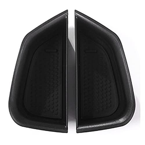 HUAER Caja de Almacenamiento de la Bandeja del Recipiente del asador de la Puerta Delantera con la Estera Antideslizante Ajuste para Alfa Romeo Giulia 2017 Accesorios para automóviles