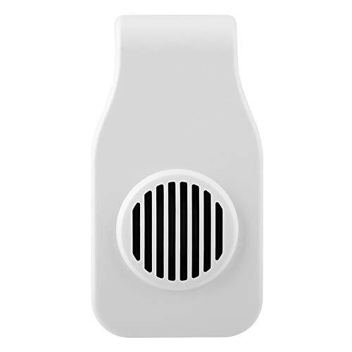 Pssopp Enfriador de acuarios Enfriador de Acuario Enfriador de Peces Sistema de Ventilador de enfriamiento de Silencio para Montaje en Pared para acuarios de Agua Dulce y Salada(Blanco)
