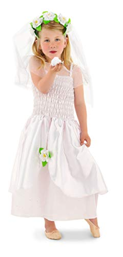 Folat 21859–Juego de niños de tamaño Vestido de Novia (tamaño pequeño, 2Piezas)