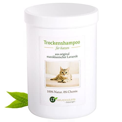 Shampoo secco per gatti – con lava marocchina...