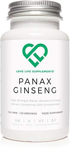 Vitamina para estudiar LLS Panax Ginseng