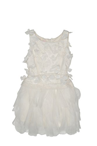 Biscotti Girl's 7-16 Wedding Party Dress, Ivory - 16