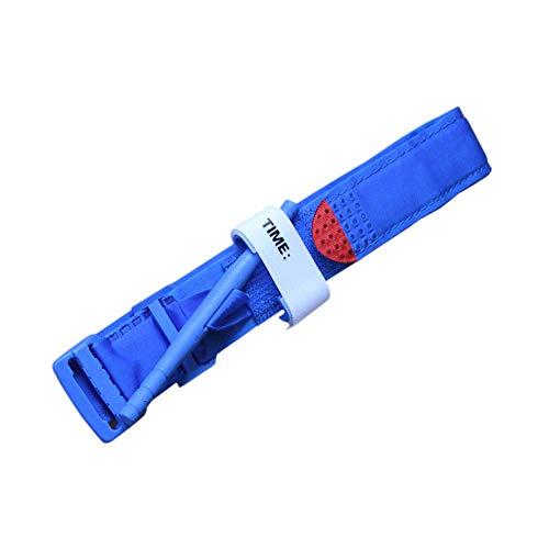 Lixada Tipo de Giro Torniquete de Combate al Aire Libre Primeros Auxilios de Emergencia Médica Equipo Táctico de Liberación Rápida Hebilla de Detención Sangrado Stanch Correa Bandas (Azul)