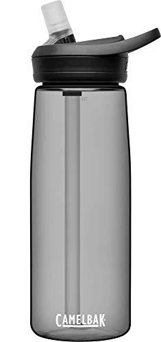 CamelBak eddy+ BPA Free Water Bottle, 25 oz, Charcoal, .75L