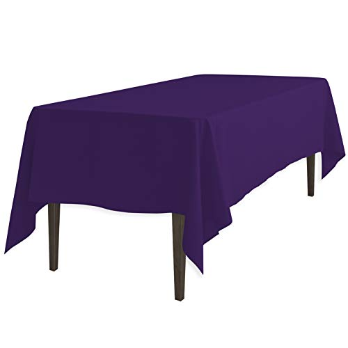 Best rectangular tablecloth purple for 2020