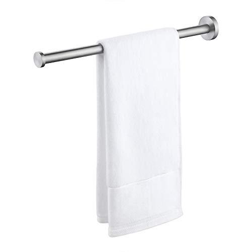 Eono von Amazon Handtuchstange Bad Handtuchhalter Edelstahl SUS304 Badetuchhalter Handtuch Halter Wandmontage Stabil 40CM Gebürstet, BTH211S40-2