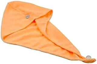Generic Fiber Hair Wrap Bath Towel - Orange
