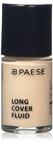 Paese Cosmetics Long cover Fluid Foundation, Shade numero 0.530ml