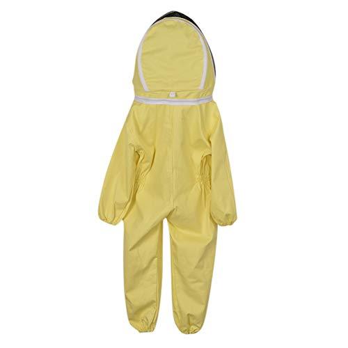 fansheng Bambini Apicoltura Tuta Traspirante Abbigliamento Anti-Ape Tuta Protettiva Cotone Bambini Tuta