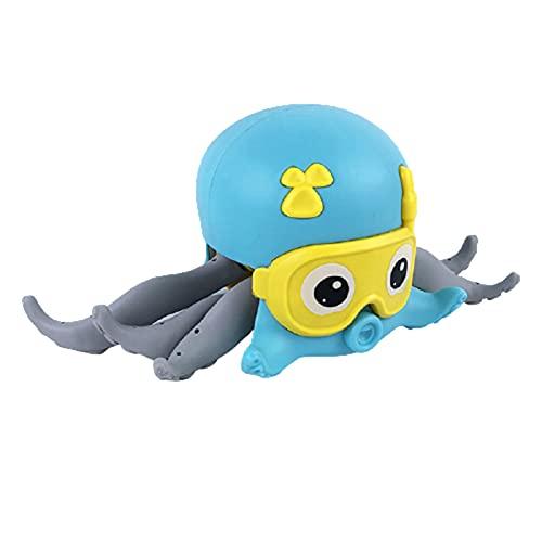 Niños Niños lindo pulpo de dibujos animados reloj juguete bebé baño juguetes para niños niñas juguete regalos