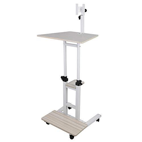 Mobiler Tisch Overbed Tisch Stand Up Laptop Schreibtisch Ständer PC Notebook...