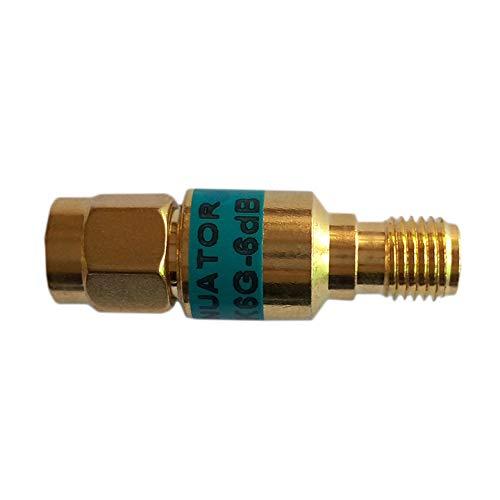 Connettori 6 GHz 50 ohm 20 dB, per attenuatore coassiale RF, con attacco da 2 W SMA-JK da maschio a femmina, dorati