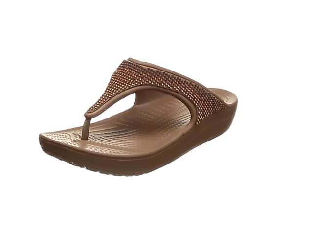 Crocs Women/'s Sloane Ombre Diamante Flip Platform Sandal Choose SZ//Color