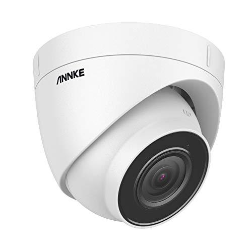 ANNKE C800 Torreta 4K Ultra HD POE Cámara de Video Vigilancia 8MP Cámara IP Seguridad Audio 256GB Tarjeta TF, Acceso Remoto, 100 pies EXIR Visión Nocturna, IP67 Impermeable (solo admite H.265/H.265+)