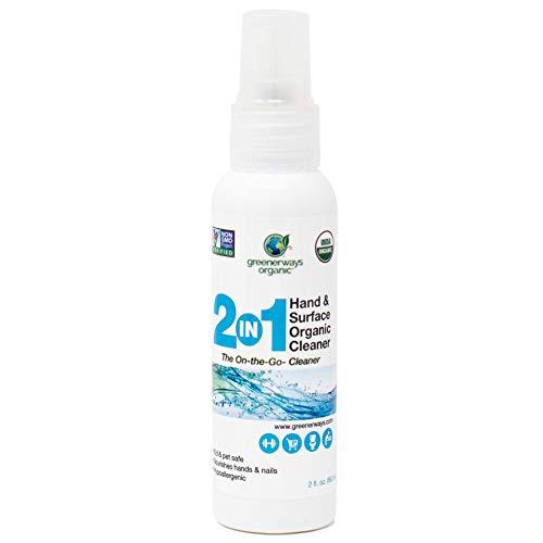 Greenerways Organic Natural Surface Cleaner 2oz
