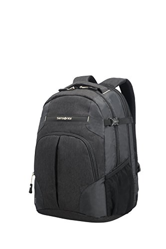 Samsonite Rewind Expandable Laptop Backpack, 45 cm, 34 L, Schwarz