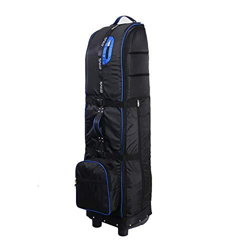 Jtoony Golf-Reisetasche mit Rollen Golf Reisetasche Golf Club Travel Cover Golftaschen zu tragen und schützen Sie Ihre Ausrüstung auf dem Flugzeug Golfbags (Color : Gray, Size : 145X30cm)