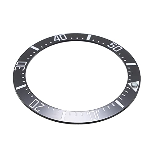 ZRNG Reloj de Reloj de Bisel de cerámica Universal 40mm Submariner Mens Reloj Anillo Insertar Accesorios FIT para Relojes Seiko para Rolex/Omega Nuevo