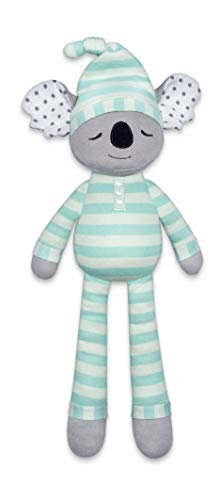 Apple Park Organic Farm Buddies - Kozy Koala Pacifier Buddy, Baby Toy for Newborns and Infants - Hypoallergenic, 100% Cotton