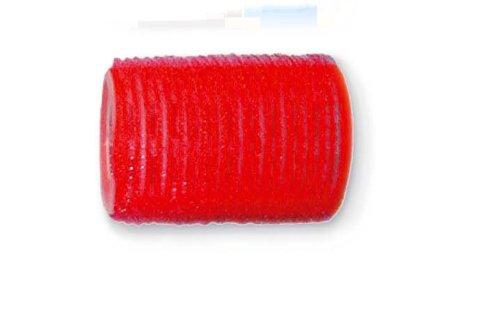Ellepi - R. Velcro 36Mm - Couleur : Rouge - 12Pcs