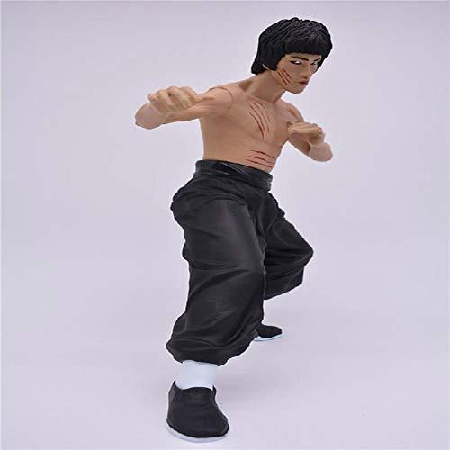 35cm Bruce Lee Kung Fu Hero Actionfigur Verziert Ansammlung Zeichentrickfigur Modell Statue Dekoration, Geschenke Der Kinder A
